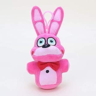 papeo FNAF Plushies 5-10 inch Big Plush Keychain Toy Huggable Small Stuffed Toys Doll Gift Christmas Halloween Birthday Gifts Cute Collection Collectible Fazbear for Kids Adults