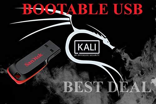 Kali Linux Bootable Install USB 16Gb 64 Bit Penetration Testing Operating System