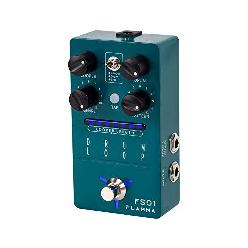 FLAMMA FS01 Drum Machine & Phrase Loop Pedal Guitar Pedal Mix Mode 20 Minutes Looper...