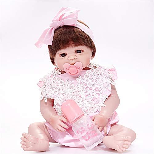 Reborn Bebe Alive Bonecas Hecho A Mano Realista Reborn Baby Doll Vinilo De Cuerpo Completo Silicona con Chupete Regalo Juguetes para Niña