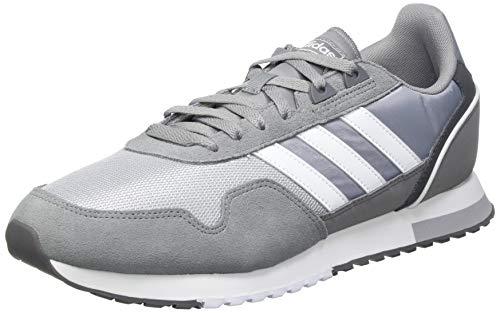 adidas 8K 2020, Zapatillas de Running Hombre, Gritre/FTWBLA/PLAHAL, 42 2/3 EU ✅