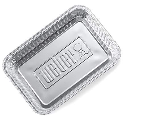 415 1wGyqjL - Weber® Alu-Tropfschalen, klein, 10 Stück