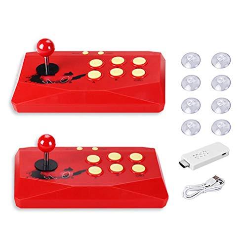 Yisimo Classic Arcade Videojuegos Console HD Retro Handheld Game Console con 2 joysticks Separados HDMI TV Videojuegos