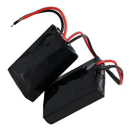 AccuCell - Batería para Beats Pill 1.0 (Ion de Litio, 3,7 V, 1850 mAh, 6,9 WH, Incluye 2 células conectadas)