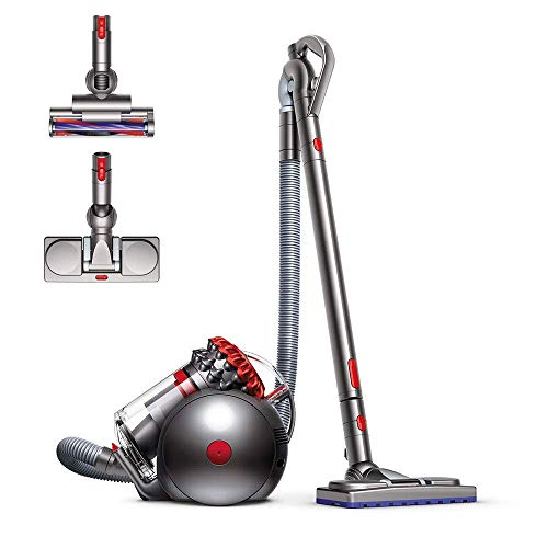 Best Buy! Dyson Big Ball Musclehead Canister Vacuum | Red (Renewed)