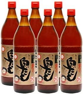 七福醸造 特選料亭白だし900ml×6本【業務用】