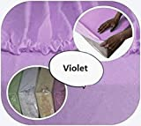 La sábana ajustable 100% algodón para bebés se adapta a la cama de 160 x 70 -...