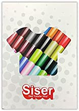 SISER Color Guide (Color Guide with Actual Product Applied)