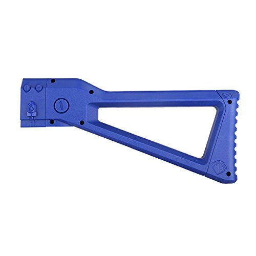 WORKER Mod ABS Plastic Shoulder Stock Kits for N-Strike Elite Retaliator Toy Color Blue