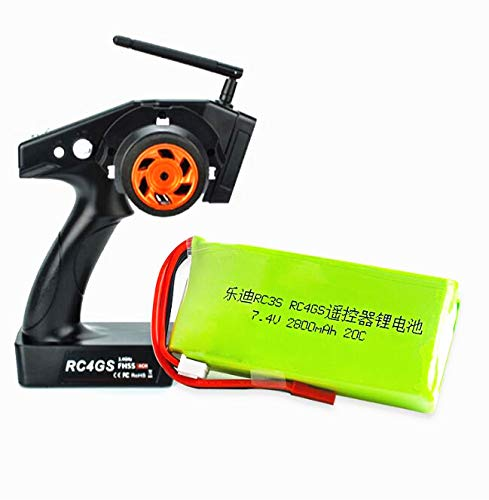 7.4V 2800mah 20C Lipo Battery Li-Polymer 2S for Radiolink RC3S RC4GS RC6GS Transmitter Reomote Controller