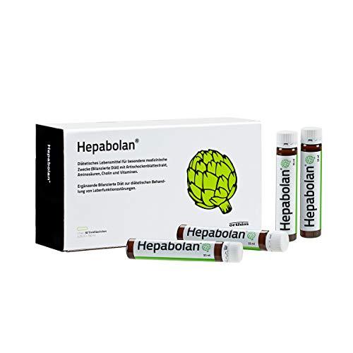 Hepabolan® A&T – Zum Diätmanagement von Leberfunktionsstörungen mit Artischockenextrakt, Aminosäuren, Cholin, Vitaminen