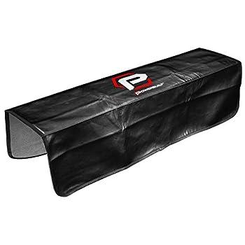 Powerbuilt 24 x 35  Black Plush Vinyl Fender Cover Protector Pad Mat - 640083
