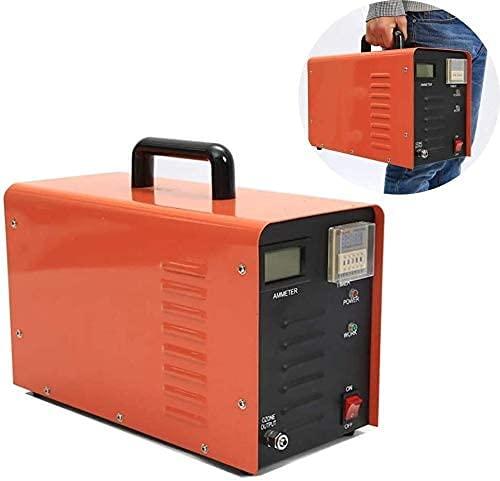 Generador De Ozono Pequeño Purificador De Aire Generador De Ozono Comercial Generador De Ozono De 10000 Mg, Para Habitaciones, Humo, Automóviles Purificadores De Aire De Ozono Industrial Portátiles Es
