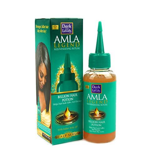Dark and lovely - Serum capillaire pour les cheveux cassants et fragiles à base d'arginine et d'huile indienne d'amla .