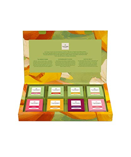 Taylors of Harrogate Green Tea & Herbal Infusions Variety Box, 48 Count