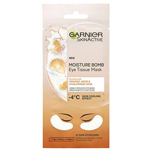 Garnier Augenmaske, Hyaluronsäure und Kokosnusswasser