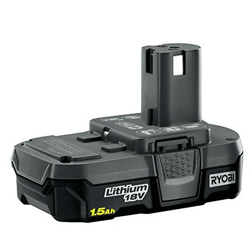 Ryobi P189 18 Volt 1.5 Ah One+ Lithium-Ion Cordless Compact Rechargeable Quick-Release Battery (Non-Retail Packaging)