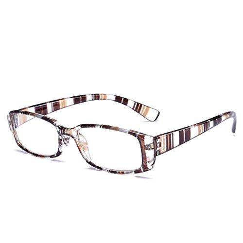 Kimruida Lesebrille Unisex - Flexible Leser Stärke Presbyopic Brillen