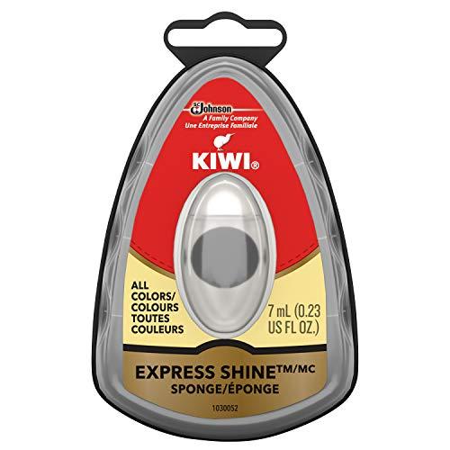 KIWI Express Shine Instant Shine Sponge Neutral (Clear) 0.23 fl oz