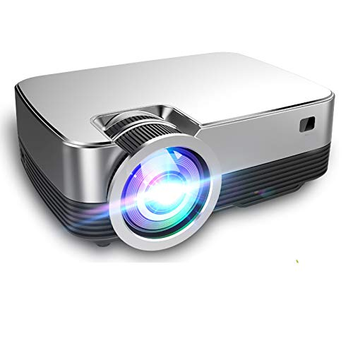 Projectors 3000lumens 1280720p Projector 720p Android 8.0 Home Office Smart 3D Movie Visual Feast for Home Projector,Business Office,Party,Watch Events -  Pinzheng