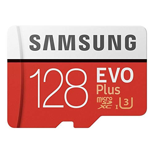 Samsung 128?GB Evo Plusクラス10?Micro SDXCアダプタ MB-MC128GA/APC レッド MB-MC128GA/APC