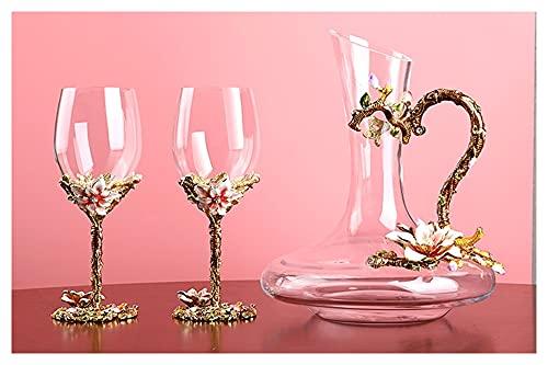 AIFCX Decantador de Vino, decantador de Vino Libre, decantador de Vino Tinto, decantador de Vino de Cristal