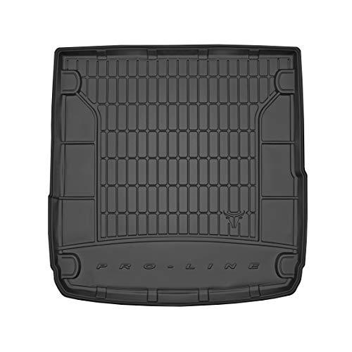 Frogum Protector Maletero de Goma Compatible con Audi A4 B9 Avant Desde 2015 | Alfombrilla Maletero Coche Accesorios | Ideal para Perro Mascotas