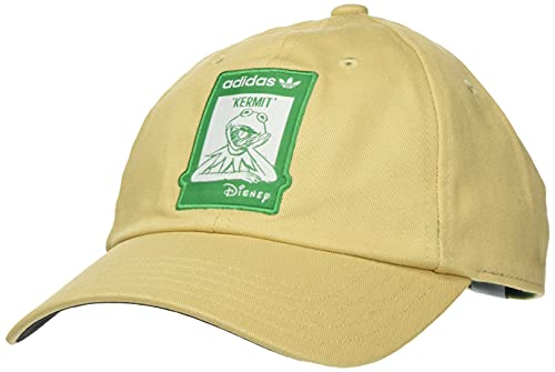 adidas GN2290 Not Easy cap Cappellino Unisex - Adulto Hazy Beige/Bold Green OSFM