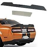 GaofeiLTF 2 Piece Wicker Bill Spoiler Fits for 2008-2014 Dodge ChallengerSRT RT SXT Add-on Type Rear Trunk Spoiler Wing