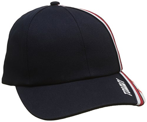 Tommy Hilfiger Stars and Stripe Cap, Gorra para Bebés, Negro (Corporate 901), Large