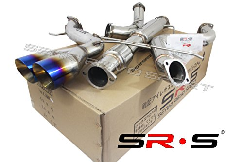"""SRS TYPE-R1 BURNT TIP CATBACK EXHAUST SYSTEM FOR 2013-2019 FORD FOCUS ST 2.0L TURBO 3"""""""