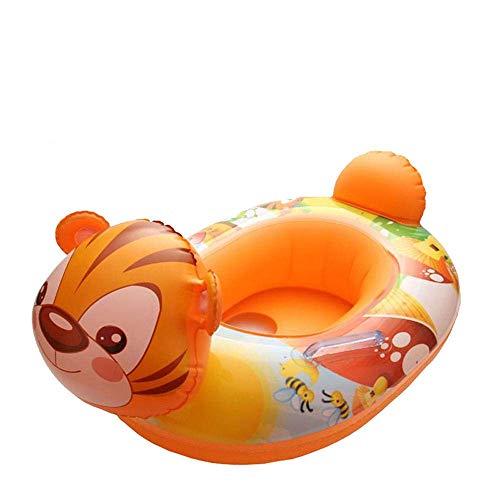 YANGSANJIN Kinderschwimmringe aufblasbar verdickt mit Sitzsicherheit Baby Spielen Wassersitz 1-4 Jahre Alten Jungen und Mädchen Schwimmbad, Kitz
