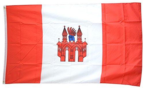 Flaggenfritze® Flagge/Fahne Deutschland Stadt Neubrandenburg - 90 x 150 cm