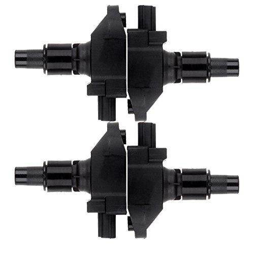 TUPARTS Pack of 4 Ignition Coils Fit for M-azda RX-8 1.3L 2004-2008 Replacement for OE: UF501 5C1450