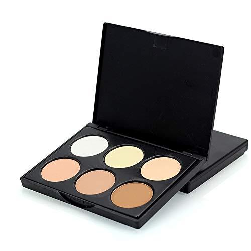 Culater® Professional 6 Couleurs Contour Crème Visage Maquillage Cosmétiques Palette (A)