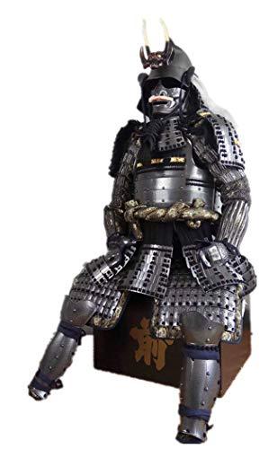 Armorj 缘甲 Feine tragbare japanische Rüstung Anzug Samurai Ghost Silber Toyotomi F03
