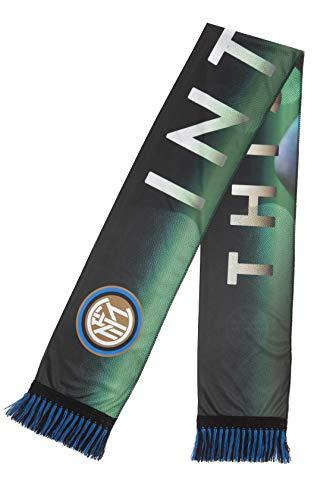 FC Inter sjaal van polyester, dubbel, geen sjaal, groen, eenheidsmaat