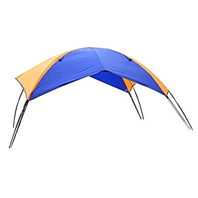 Lightweight Folding Sun Shelter for Inflatable Kayak/Canoe/Boat/Sailboat with Hardware [Baoblaze] review