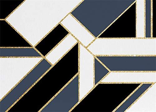 Moderne Stijl Tapijten Voor Binnen of Buiten Zwart Wit Marmer Design Zeer Slijtvast - Binnen- of Buitentapijt Patio/Woonkamer/Eetkamer Gebruik (160 * 230Cm),B,40 * 120cm