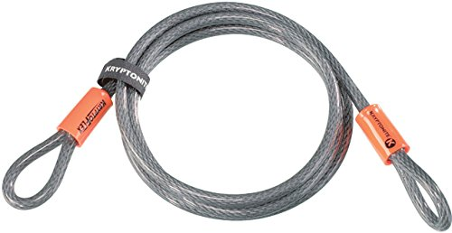 Kryptonite KryptoFlex Looped Bike Security Cable, 7' (10mm)
