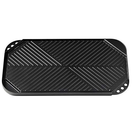 Primus Aluminium Grillplatte für 2-Flammkocher, Schwarz, One Size