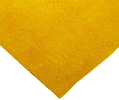 Sax Synthetic Decorator Felt, Yellow, 36' L x 36' W - 362465