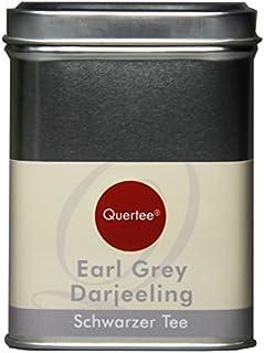 Quertee - Schwarzer Tee - Earl Grey Darjeeling in einer Teedose - 110 g - Loser Tee