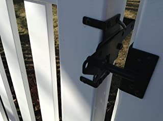 pvc fence gate latches