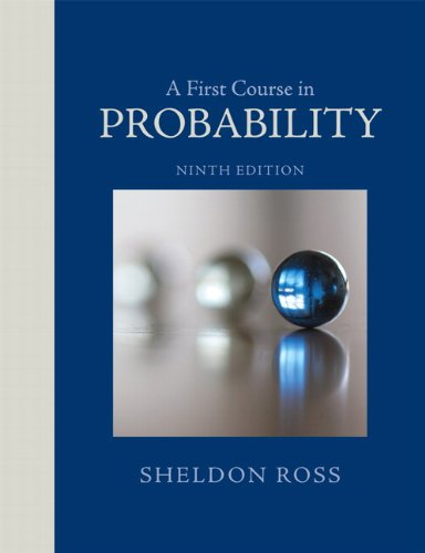 A First Course in Probability (9th Edition)