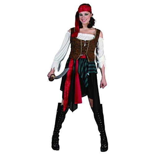 UNI -- Pirate Woman Fancy Costume - XS/S Size