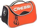 Cressi Kandy Bag Sac de Sport Compact/Polyvalent Adulte Unisexe, Orange/Noir, Une Taille