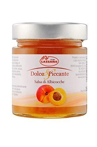 250g Salsa di Albicocche Aprikosensenfsauce Aprikosensenf von Lazzaris