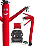 LookOurWay Air Dancers Inflatable Tube Man Complete Set with 1 HP Blower,...