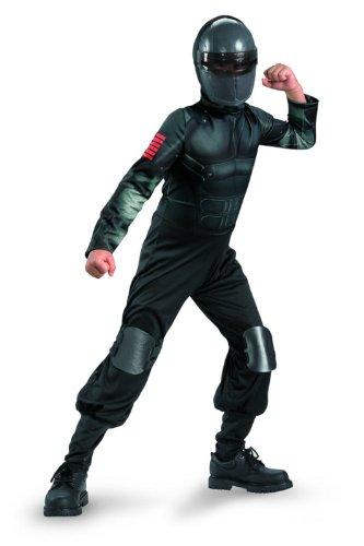 Disguise Costumes G.i. Joe Retaliation Snake Eyes Classic Costume, Black, Large